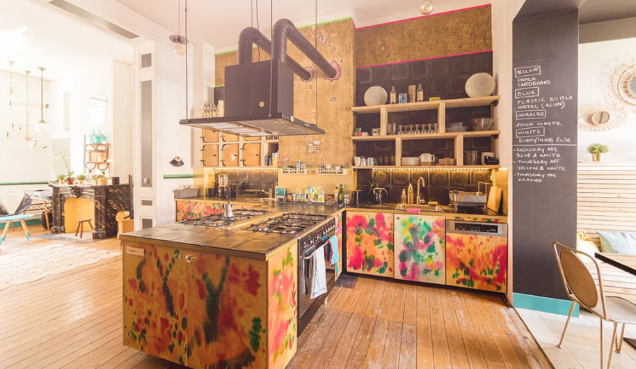 Cohabs Horta Kitchen Coliving